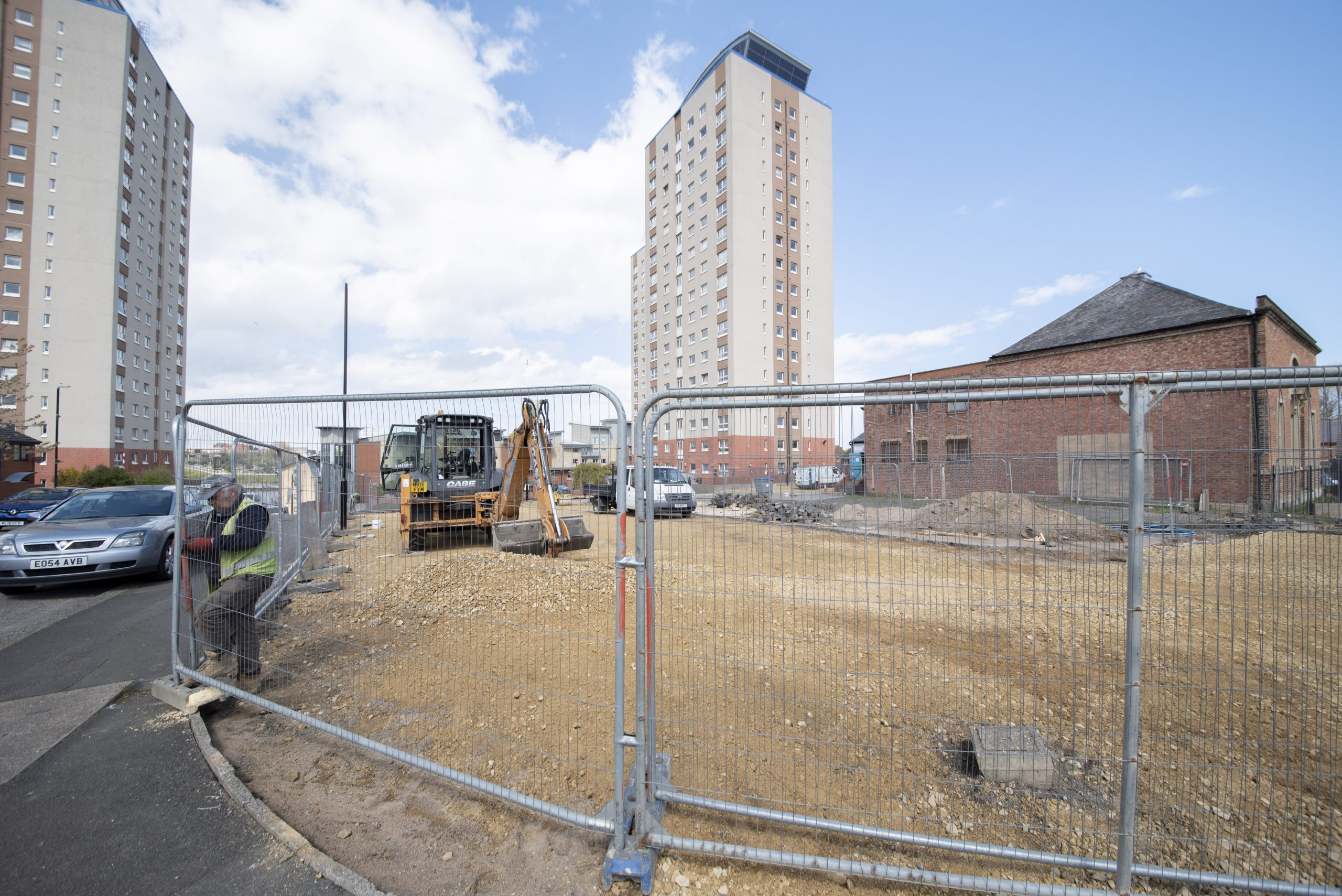 7th May 2021 ongoing site work