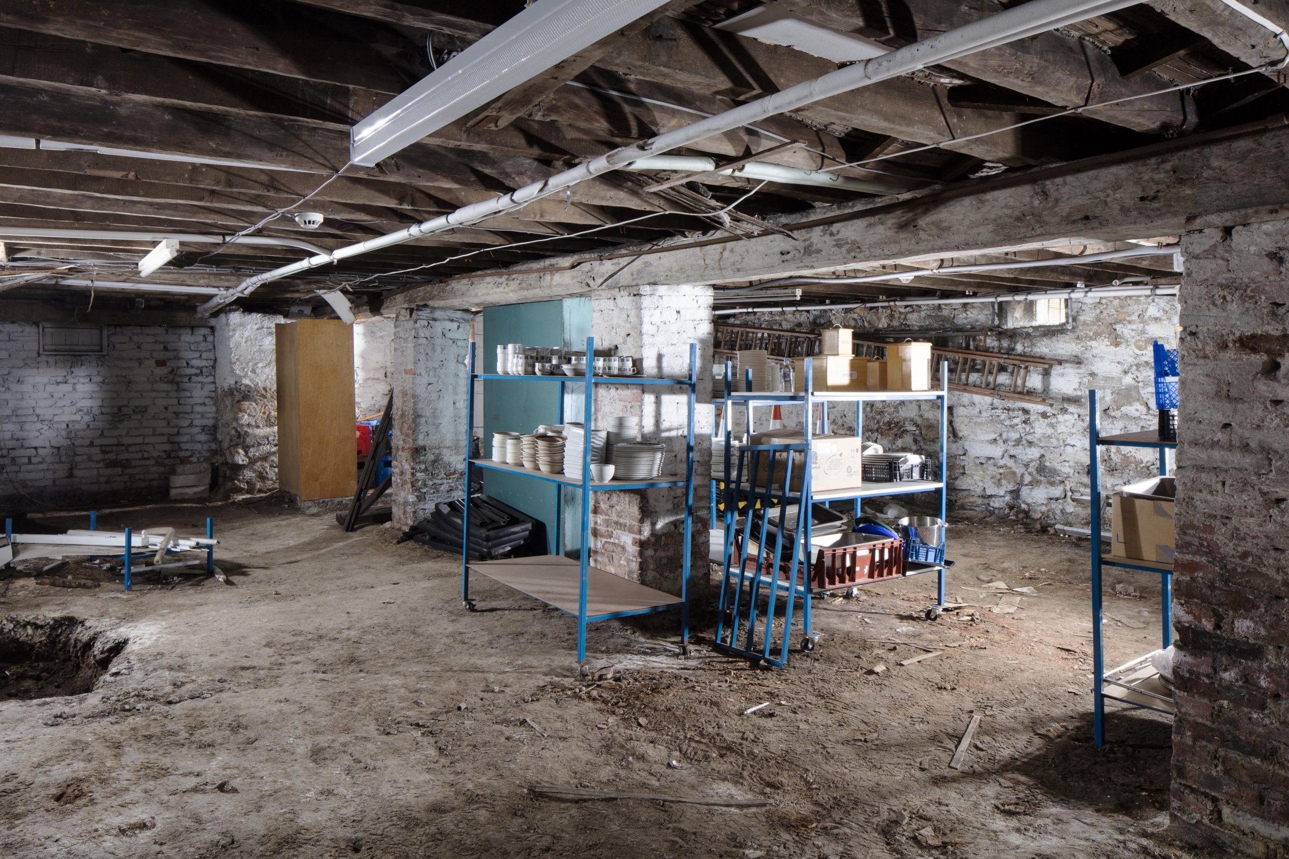 Queen Street Masonic Temple Cellar